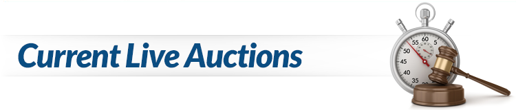 Current live Auctions